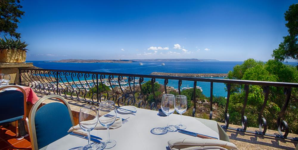 Lunch dinner at the country terrace restaurant mgarr gozo for Terrace 45 menu